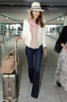 08 Jessica Alba at Heathrow