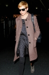 10 Michelle Williams at JFK Airport