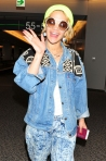 17 Rita Ora making her way through Tokyo Airport