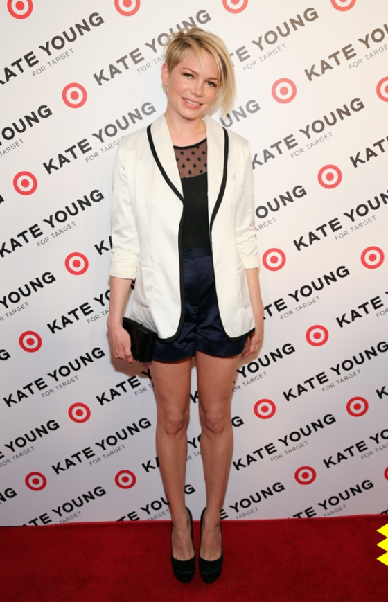 01 Attending the launch of the Kate Young for Target range
