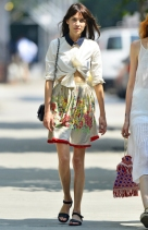 01 Alexa Chung out and about in New York